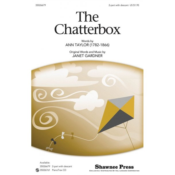 GARDNER JANET THE CHATTERBOX 2 PART OPT DESCANT CHORAL
