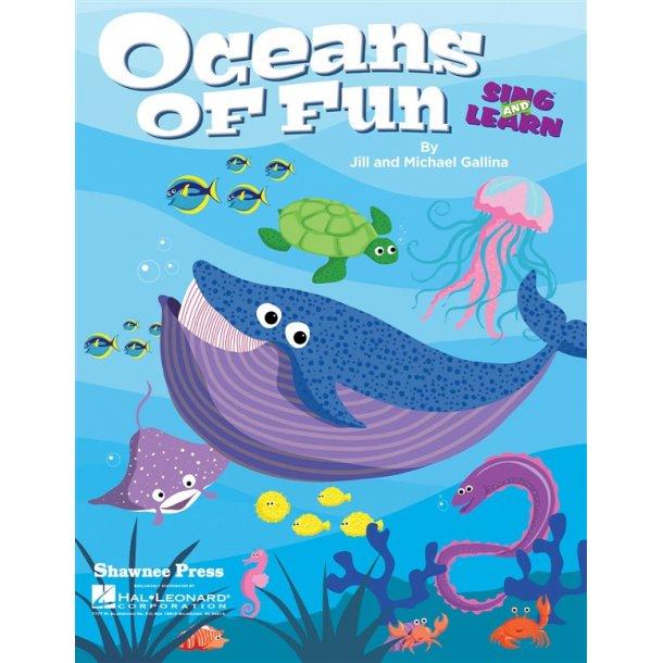GALLINA JILL & MICHAEL OCEANS OF FUN CLASSROOM KIT BK/CD/CD-ROM