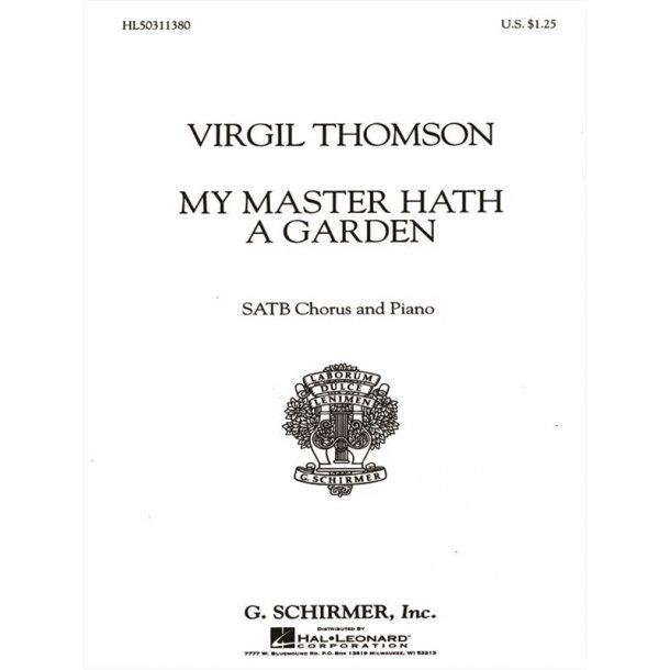 My Master Hath A Garden W/Piano