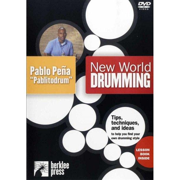 New World Drumming - Pablo Pena (DVD)