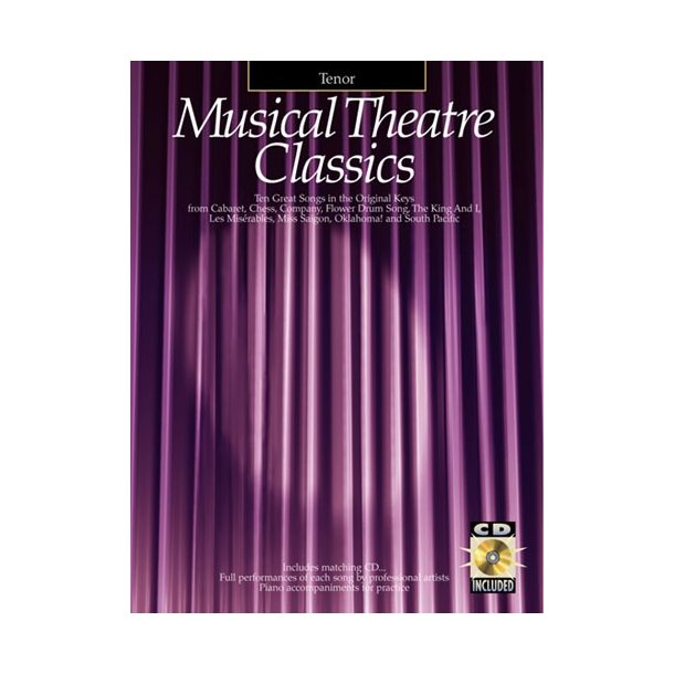 Musical Theatre Classics Tenor
