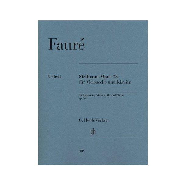 Gabriel Fauré: Sicilienne Op.78