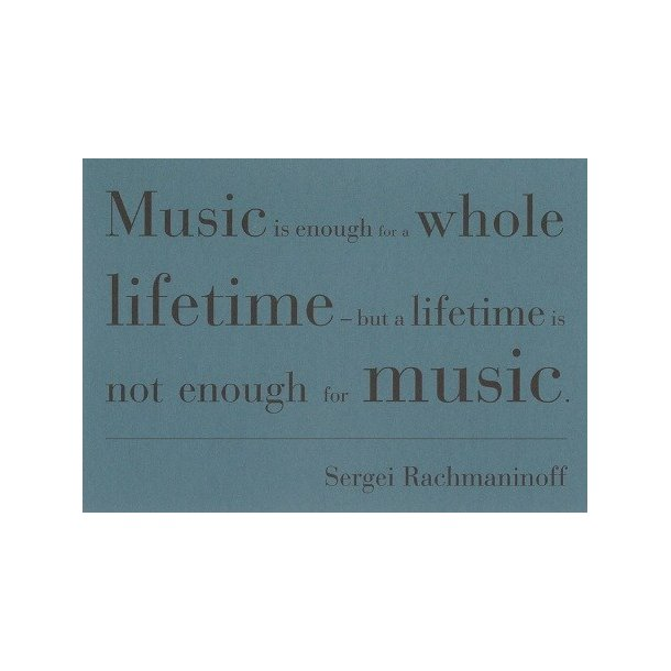Musical Quotes Cards (10 Cards In 2 Designs) - Set 1
