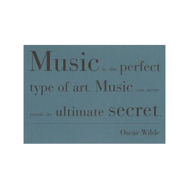 Musical Quotes Cards (10 Cards In 2 Designs) - Set 2