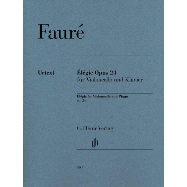 Gabriel Fauré: Élégie Op.24 For Violoncello And Piano