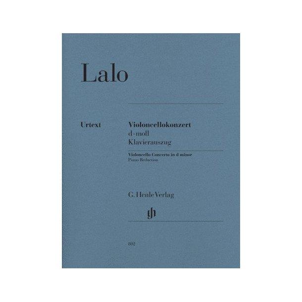 Édouard Lalo: Violoncello Concerto In D Minor - Cello/Piano (Urtext)