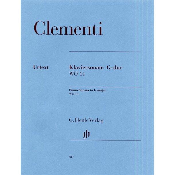 Muzio Clementi: Piano Sonata In G WO 14