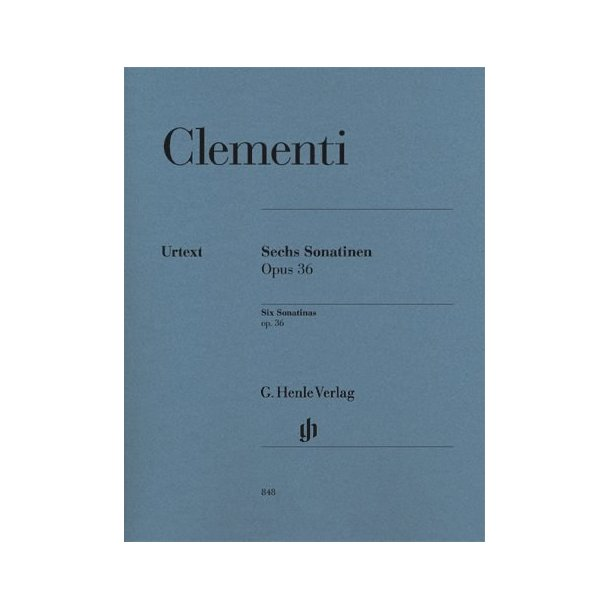 Muzio Clementi: Six Sonatinas Op.36