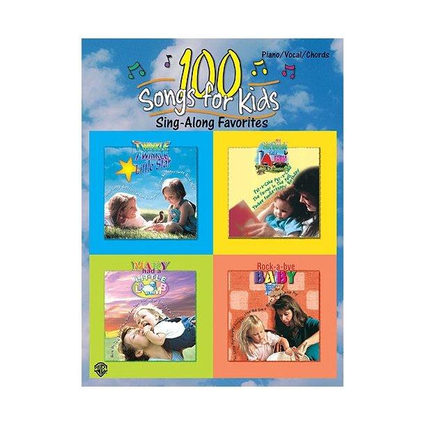 100 Songs For Kids Sing-Along Favorites.