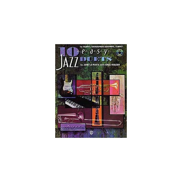10 Easy Jazz Duets For Flute, Guitar, Violin, Vibraphone and Piano