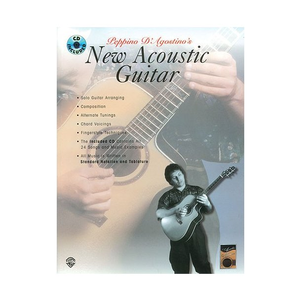 New Acoustc Guitar (Book/Cd)