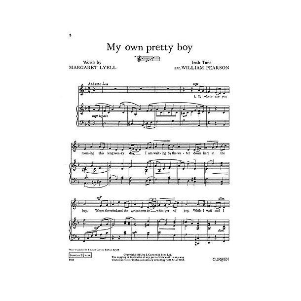 Pearson, W My Own Pretty Boy D Minor+g Minor Voice/Piano