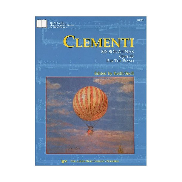 Muzio Clementi: Six Sonatinas Op. 36 For The Piano