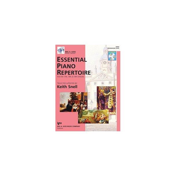 Neil A. Kjos Piano Library: Essential Piano Repertoire - Preparatory Level
