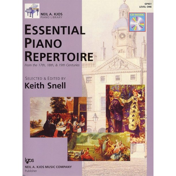 Neil A. Kjos Piano Library: Essential Piano Repertoire - Level 1