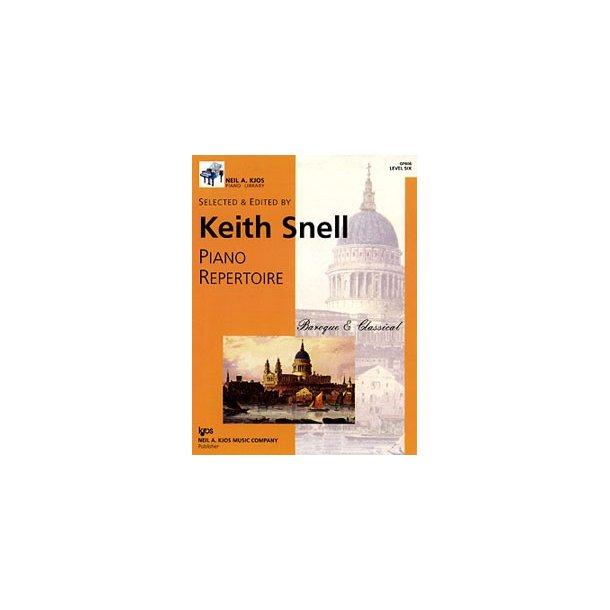 Neil A. Kjos Piano Library: Piano Repertoire - Baroque/Classical Level 6