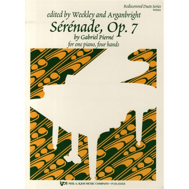 Gabriel Pierné: Sérénade Op.7 (One Piano, Four Hands)