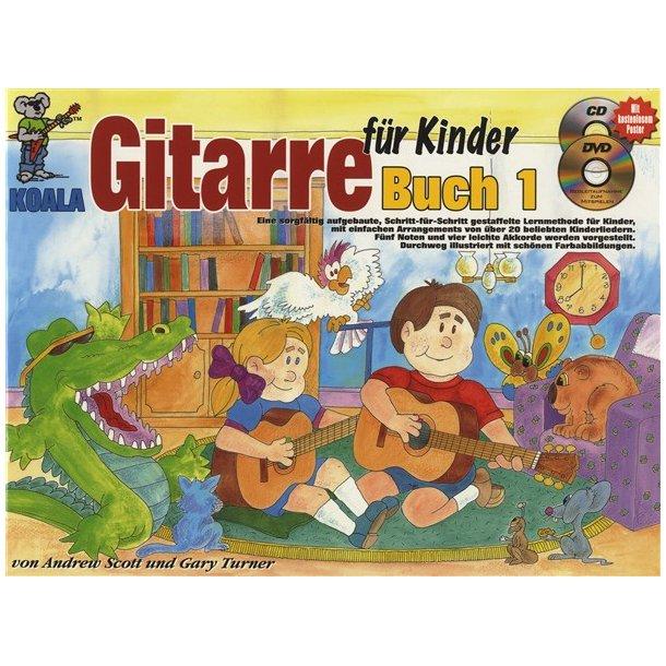 Gitarre Fur Kinder Gtr Bk/Cd/Dvd