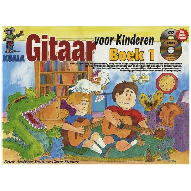 Gitaar Voor Kinderen: Boek 1 (Dutch) (Book/CD/DVD)