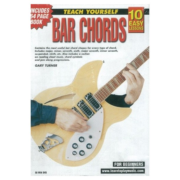 10 Easy Lessons: Teach Yourself Bar Chords (DVD With Small Booklet)