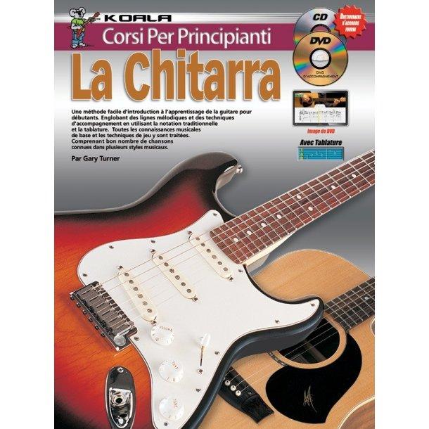 10 Facili Lezioni Imparate A Suonare La Chitarra Book/Cd/Dvd Italian