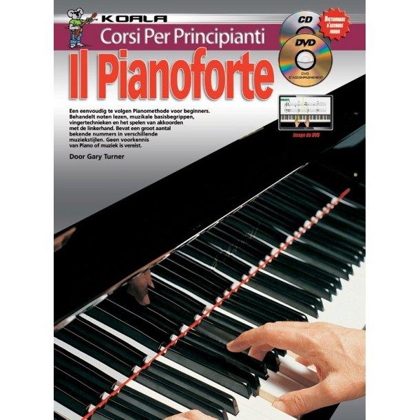 10 Facili Lezioni Imparate A Suonare Il Pianoforte Book/Cd/Dvd Italian