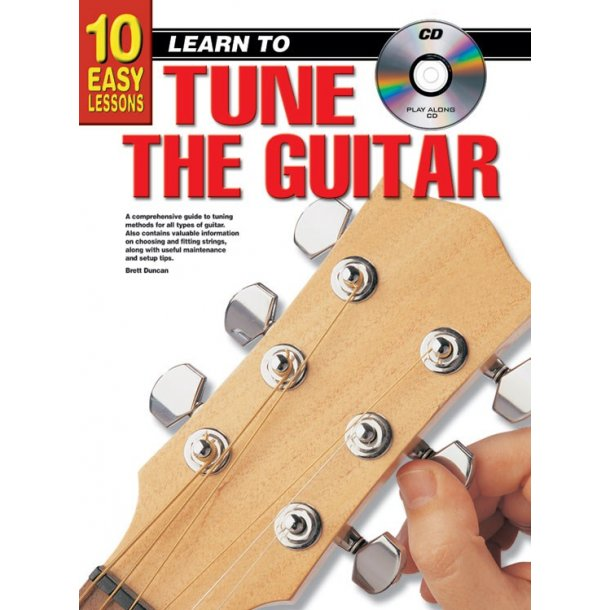 10 Easy Lessons Hw To Tune Gtr Bk/Cd