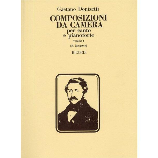 Gaetono Donizetti: Composizioni Da Camera - Volume 1