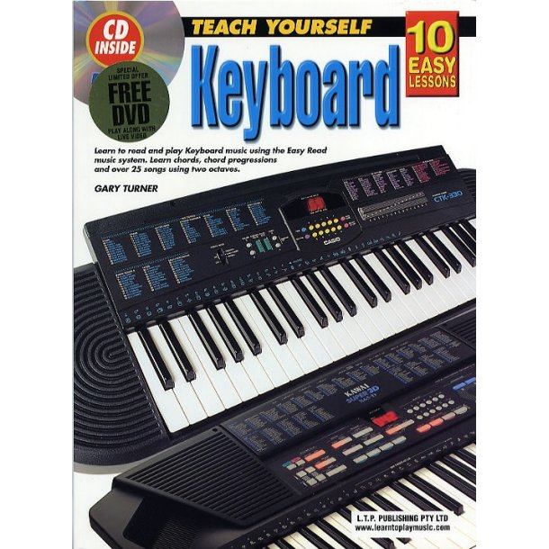 10 Easy Lessons: Teach Yourself Keyboard (Book/CD/DVD)