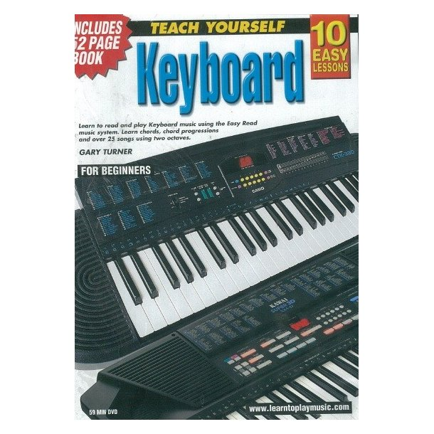10 Easy Lessons: Teach Yourself Keyboard (DVD With Small Booklet)