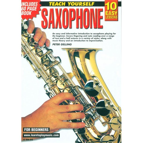 10 Easy Lessons: Teach Yourself Saxophone (DVD With Small Booklet)