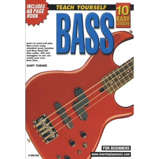10 Easy Lessons: Teach Yourself Bass (DVD With Small Booklet)