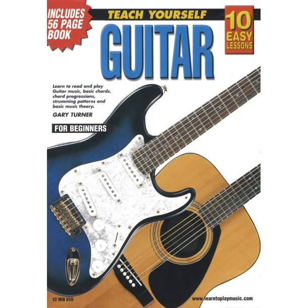 10 Easy Lessons: Teach Yourself Guitar (DVD With Small Booklet)