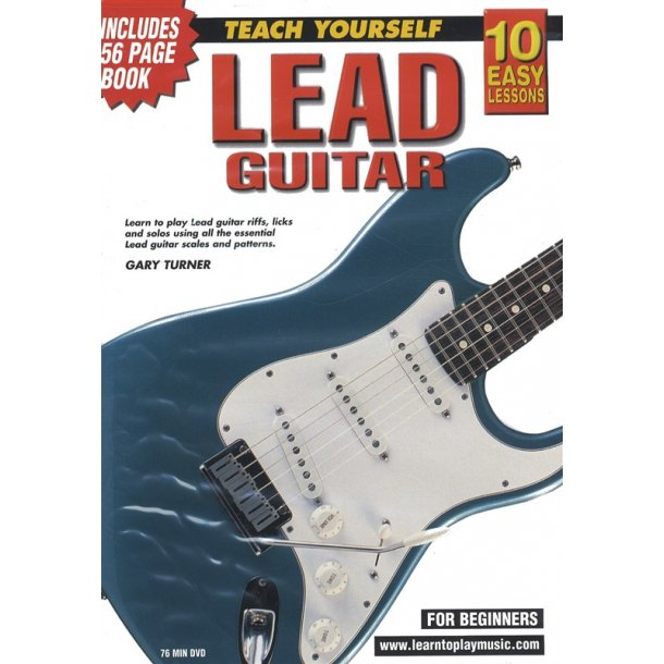 10 Easy Lessons: Teach Yourself Lead Guitar (DVD With Small Booklet)