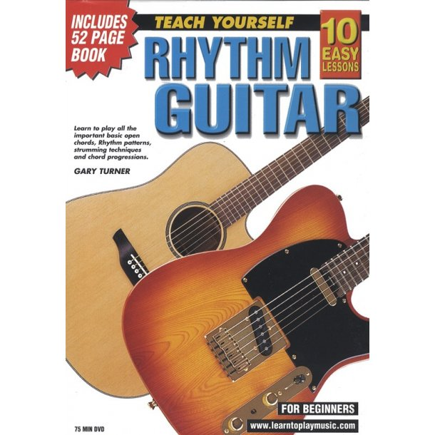 10 Easy Lessons: Teach Yourself Rhythm Guitar (DVD With Small Booklet)