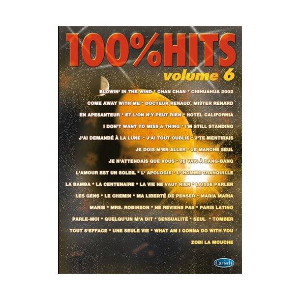 100% Hits, Volume 6