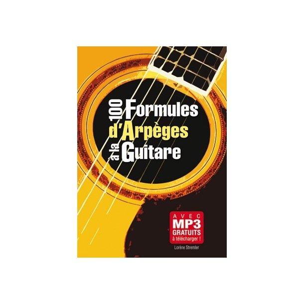 100 Formules Arpeges Guitare Gtr Bk