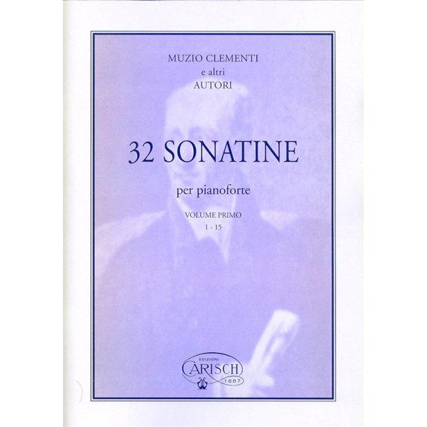 Muzio Clementi: 32 Sonatines - 1° Volume (1-15)