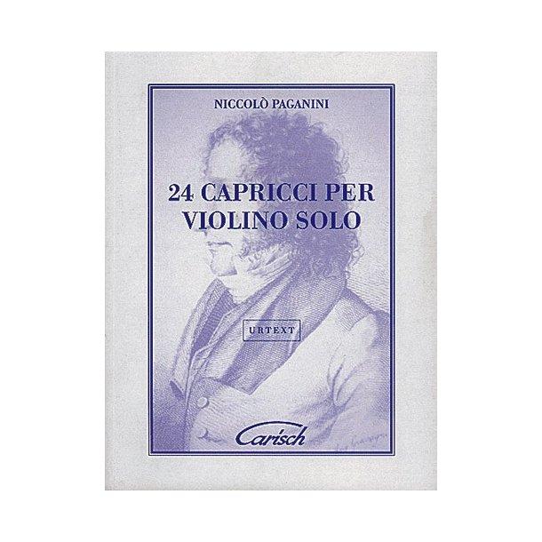 Niccolò Paganini: 24 Capricci, Per Violino Solo