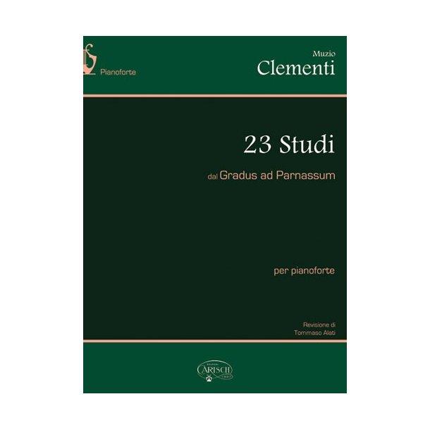 Muzio Clementi: 23 Studi dal Gradus Ad Parnassum