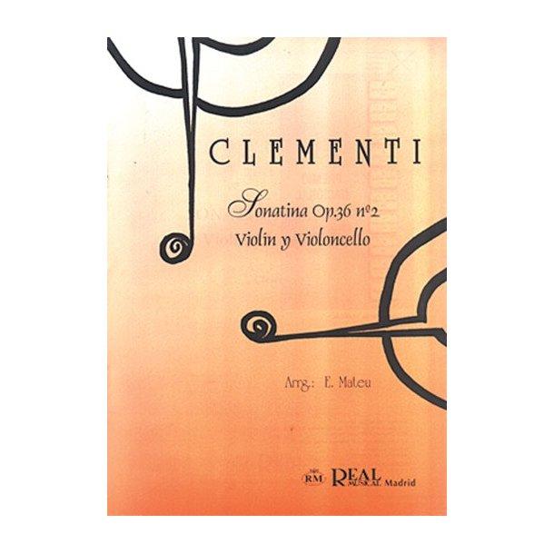 Muzio Clementi: Sonatina Op.36 No.2, para Violín y Violoncello
