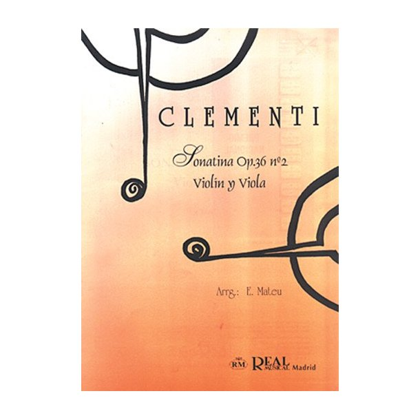 Muzio Clementi: Sonatina Op.36 No.2, para Violín y Viola