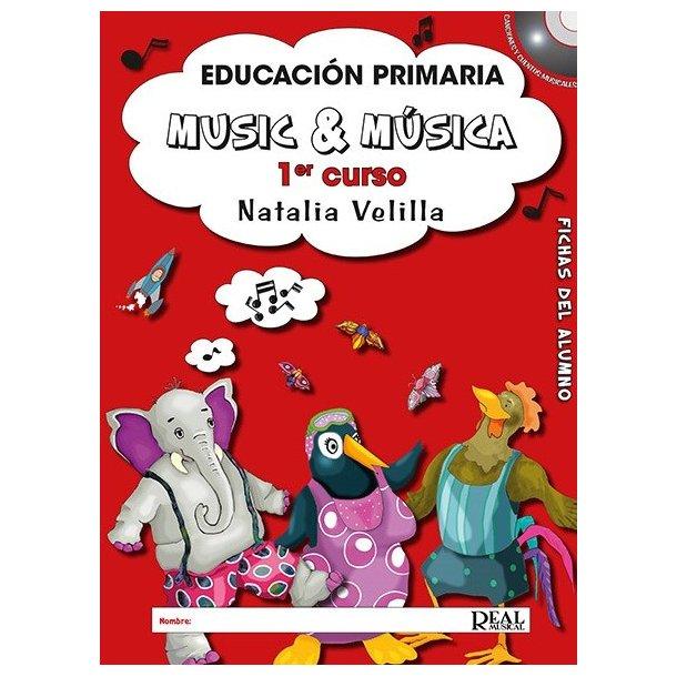 Natalia Velilla: Music & Musica Vol. 1 (Book/DVD)