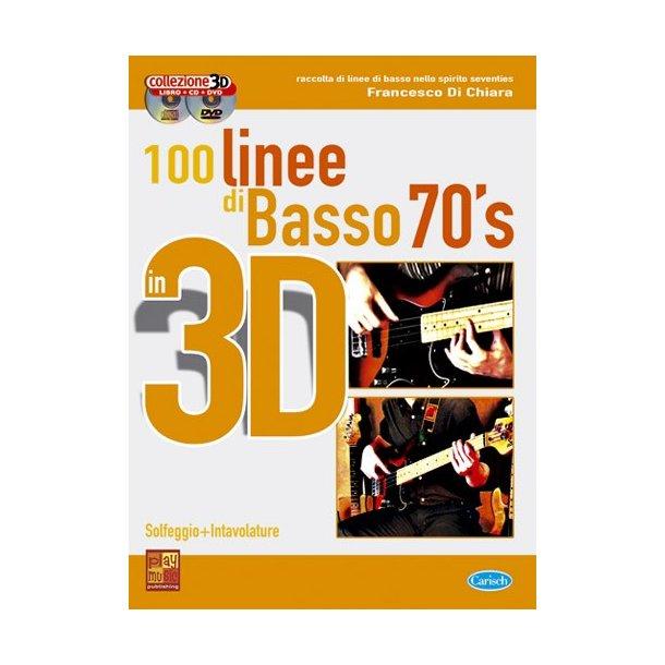 100 Linee di Basso 70?s in 3D