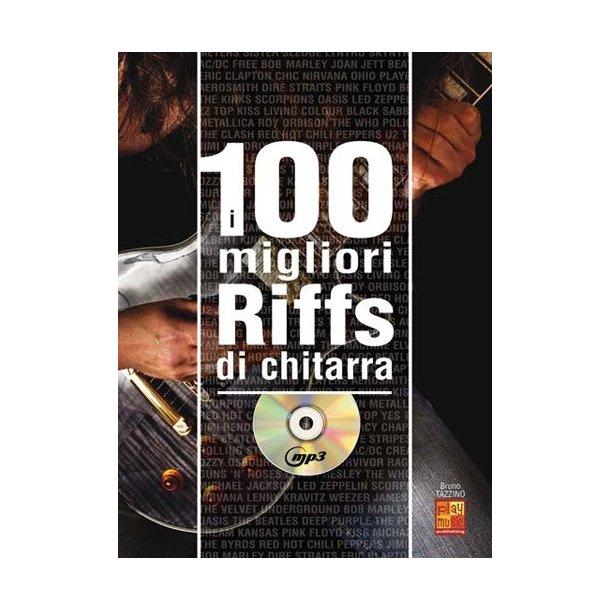 100 Riff Chitarra Gtr Bk/Cd