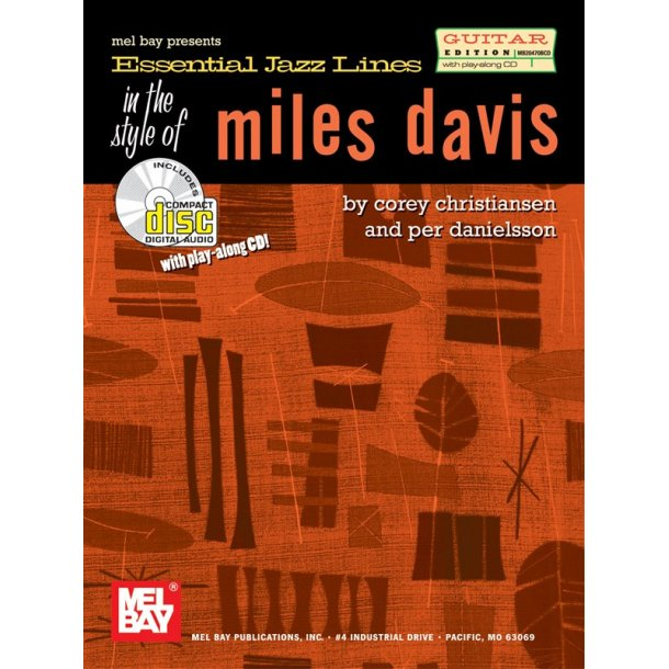 'Essential Jazz Lines' In The Style Of - Miles Davis