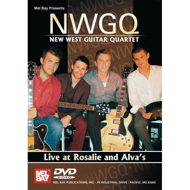NEW WEST GUITAR QUARTET GUITAR DVD