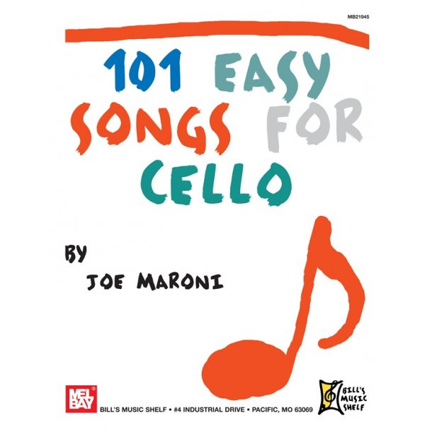 101 Easy Songs for Cello