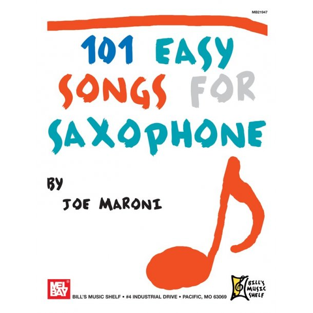 101 Easy Songs for Saxophone