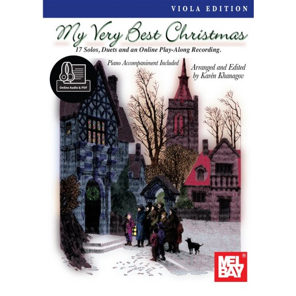 My Very Best Christmas, Viola Edition (Book/Online Audio)